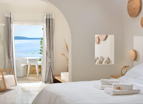 Deluxe sea view room - delos view